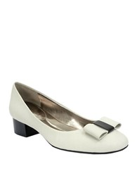Ellen Tracy Pansy Patent Leather Pumps