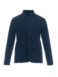 Tomorrowland Button Front Wool Cardigan