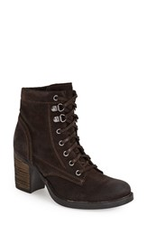 Women's Bos. And Co. 'Basey' Waterproof Lace Up Boot Dark Brown Oilsuede
