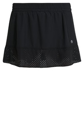 Lija Fleet Sports Skirt Black