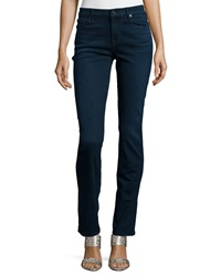 7 For All Mankind Kimmie Straight Leg Jeans Slim Illusion Luxe