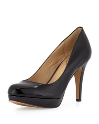 Circa Joan And David Pearly Patent Leather Pump Black