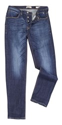 Blend Of America Regular Fitted Jeans Blue