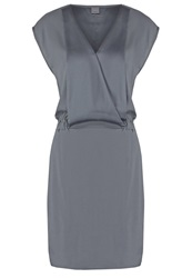 Y.A.S Yas Yassanny Summer Dress Urban Chic Dark Gray