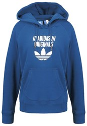 Adidas Originals Hoodie Tech Steel Dark Blue