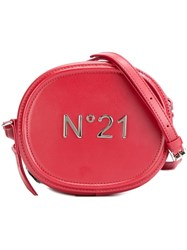 N 21 No21 Small Cross Body Bag Red
