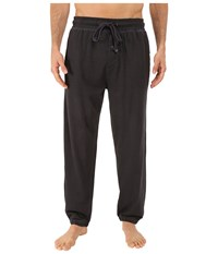 Kenneth Cole Reaction Knit Pants Black Men's Pajama