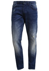 Only And Sons Onsweft Straight Leg Jeans Dark Blue Denim Dark Blue Denim