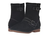 Hush Puppies Aydin Catelyn Black Suede Women's Boots