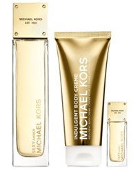 Michael Kors Collection Sexy Amber 3 Pc. Deluxe Gift Set No Color