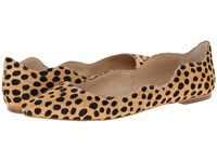 Loeffler Randall Milla Cheetah Women's Dress Flat Shoes Animal Print