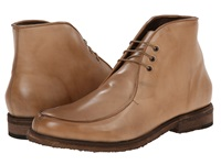 Messico Antigua Crepe Beige Leather Men's Lace Up Boots