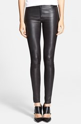 Women's Alice Olivia Leather Leggings
