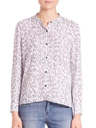 The Kooples Printed Button Front Shirt