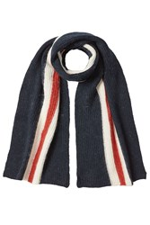 Neil Barrett Striped Scarf Multicolor