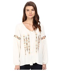 Ariat Marrakesh Top Papyrus Women's Long Sleeve Pullover Taupe