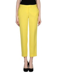 Moschino Cheap And Chic Moschino Cheapandchic Casual Pants Acid Green