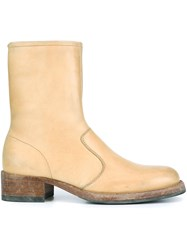 Maison Martin Margiela Classic Ankle Boots Nude And Neutrals