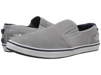 The North Face Base Camp Lite Slip On Griffin Grey Cosmic Blue Men's Shoes Gray