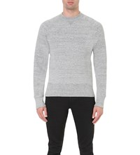 Tom Ford Crewneck Jersey Sweatshirt Grey Marl