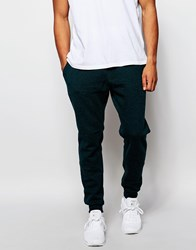 New Look Joggers In Slim Fit With Cuffs Darkgreen