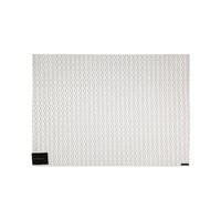 Chilewich Wicker Rectangle Placemat Platinum