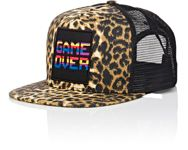 Saint Laurent Men's 'Game Over' Baseball Cap Nude