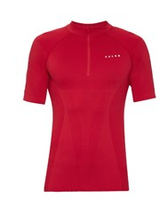 Falke Seamless Lightweight Running Top Red