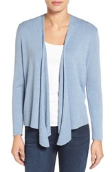 Nic Zoe Women's Four Way Convertible Cardigan Celeste