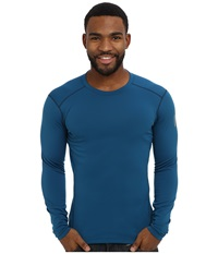 Arc'teryx Phase Sv Crew L S Thalo Blue Men's Long Sleeve Pullover Navy