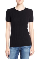 Ag Jeans Women's 'Fallon' Short Sleeve Merino Wool And Cashmere Sweater