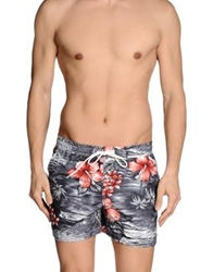 Franklin And Marshall Swimming Trunks Grey