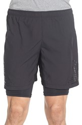 Men's Craft 'Trail' 2 In 1 Stretch Running Shorts 9 Inch