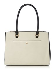 Linea City Tote Handbag Bone
