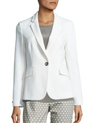 Peserico Cotton Blend Blazer Cream