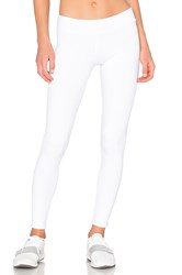 Solow Wavestitch Legging White