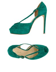 Stele Footwear Sandals Women Emerald Green