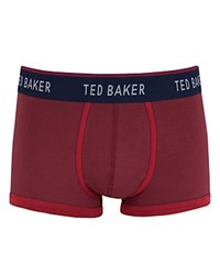 Ted Baker Rocklan Boxer Briefs Dark Red