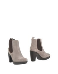Ice Iceberg Ankle Boots Light Grey