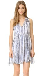 Shoshanna Ayanna Dress Blue Multi