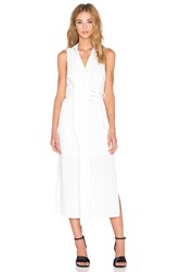 Keepsake Stolen Heart Shirt Dress White