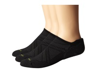 Smartwool Phd Run Elite Micro 3 Pair Pack Black Men's Crew Cut Socks Shoes