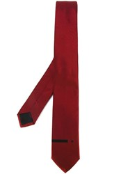 Givenchy Woven Tie Red