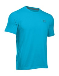 Under Armour Charged Cotton Sportstyle T Shirt Aqua