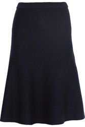 Iris And Ink Tilda Milano Flared Knitted Wool Skirt