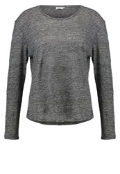 Filippa K Long Sleeved Top Anthracite