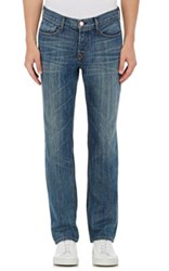 Earnest Sewn Men's Fulton Classic Straight Jeans Blue
