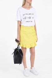 Wildfox Couture Like Me Check One T Shirt White