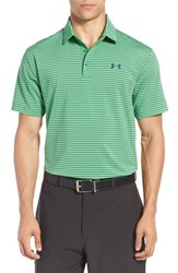 Under Armour Men's 'Playoff' Short Sleeve Polo Putting Green Academy