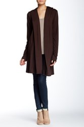 Ecoskin Hooded Wrap Brown